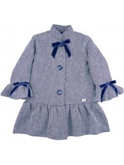 Eve Children. Mao collar coat