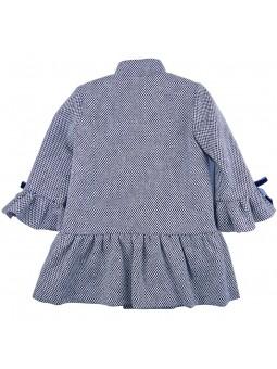Eve Children пальто с воланом вид сзади