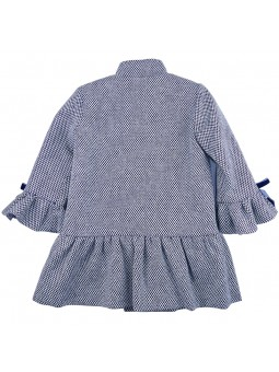 Eve Children. Mao collar coat back view
