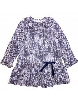 Eve Children vestido lunares