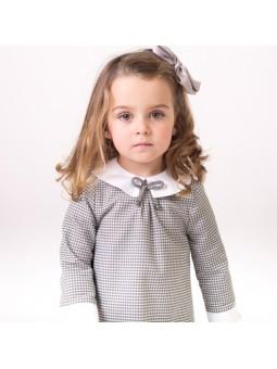 Eve Children vestido pata de gallo lookbook
