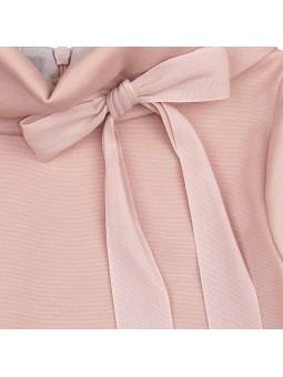 Eve Children vestido rosa detalle lazo