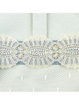 Rochy vestido celeste con lazos detalle