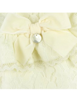 Rochy vestido de encaje detalle