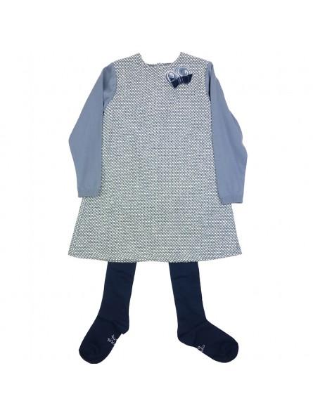 Tutto Piccolo vestido de tweed