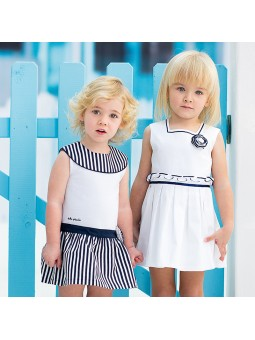 Tutto Piccolo vestido blanco lookbook