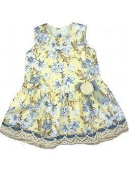 Rochy vestido estampado lirios