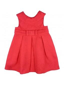 Tutto Piccolo vestido coral de jacquard