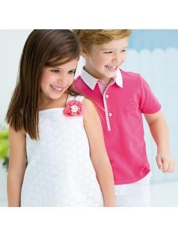 Tutto Piccolo vestido blanco bordado lookbook