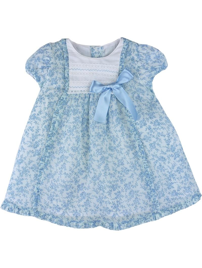 Rochy vestido estampado celeste