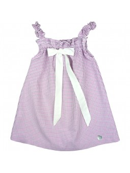 Eve Children vestido vichy