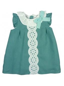 Rochy vestido verde