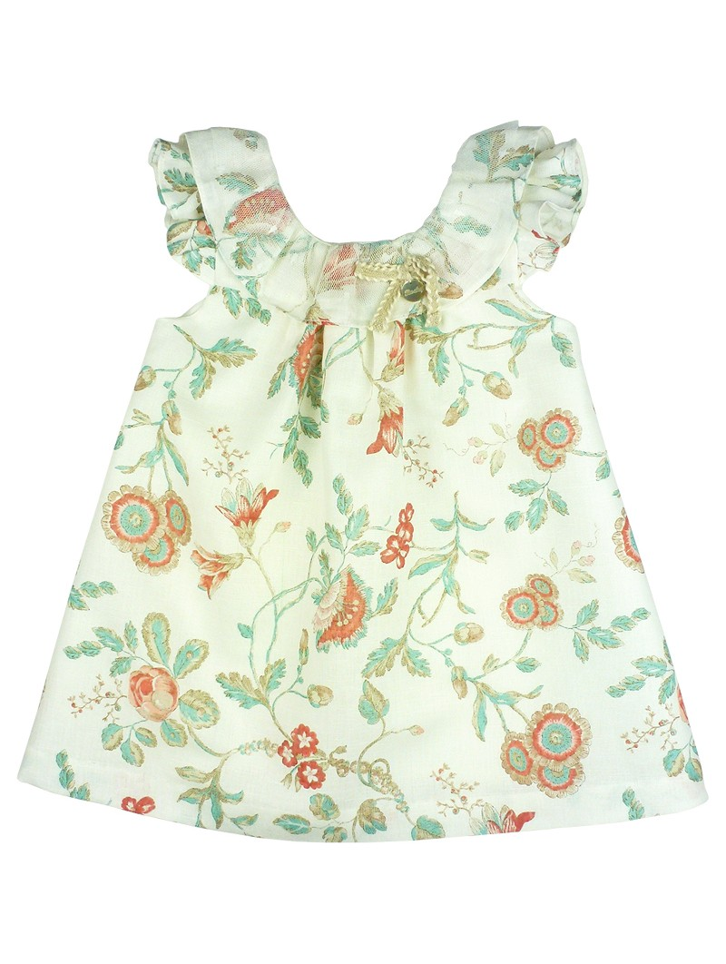 Rochy vestido de lino estampado