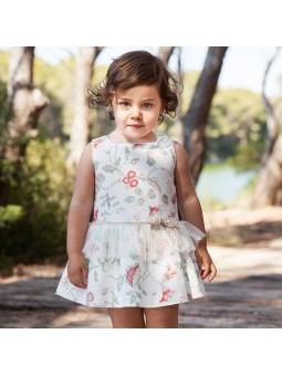 Rochy vestido de lino estampado lookbook