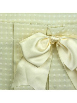Eve Children vestido beige detalle lazada