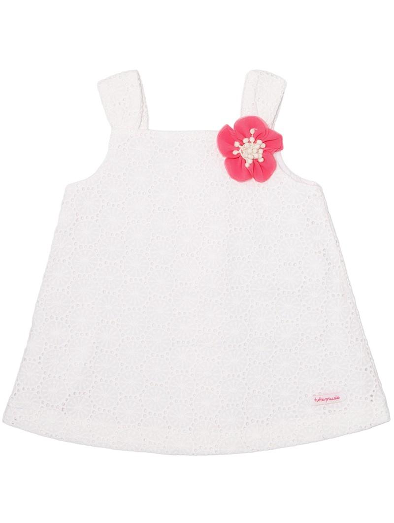 Vestido blanco Tutto Piccolo