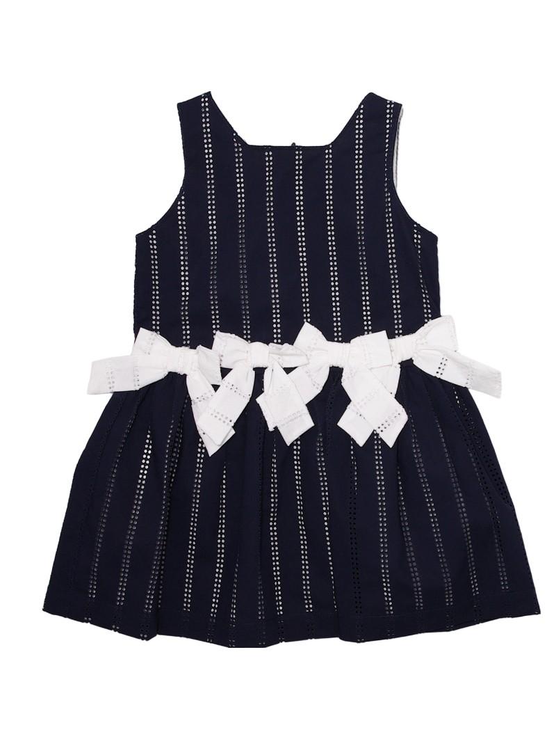 Tutto Piccolo vestido navy