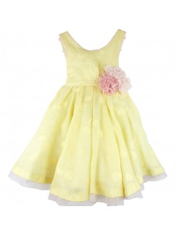 Larrana vestido amarillo