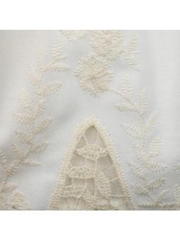 Rochy vestido con bajo bordado detalle bordado