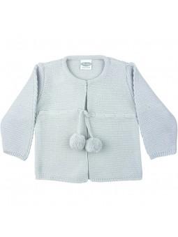 Rochy chaqueta de punto con pompones