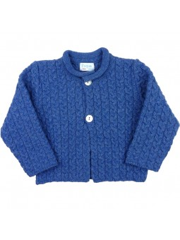 Foque chaqueta de ochos en azulón