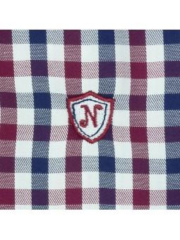 Nachete camisa con chorreras detalle