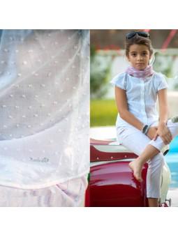 Nachete camisa blanca plumeti lookbook