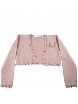 Lio Lio chaqueta de punto en rosa maquillaje