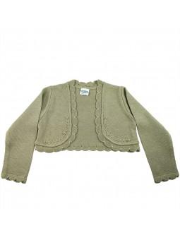Rochy chaqueta de punto topo