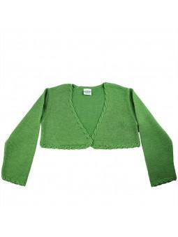 Rochy chaqueta de punto verde