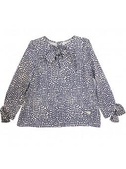 Eve Children conjunto blusa de lunares