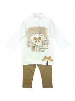 iDO conjunto camiseta larga y pantalón jogging
