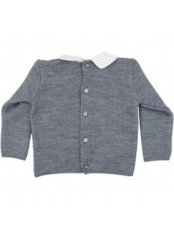 Rochy jersey gris vista trasera