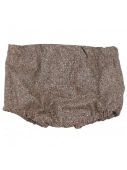 Rochy braguita marrón jaspeada vista trasera