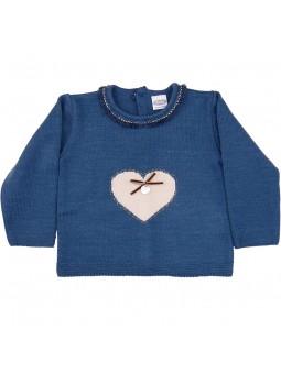 Rochy jersey con corazón
