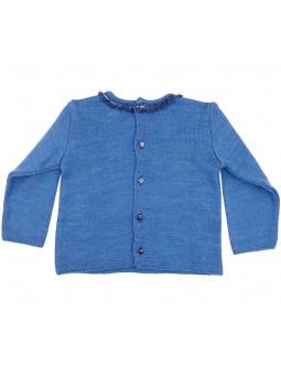 Rochy jersey azul vista trasera