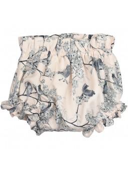 Rochy braguita estampada con pajaritos