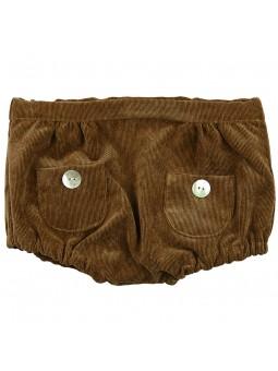 Rochy braguita de pana marrón