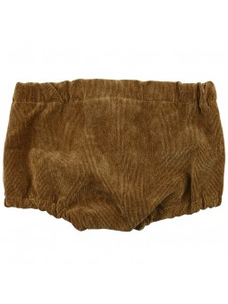 Rochy braguita de pana marrón vista trasera