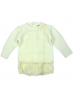 Rochy conjunto ceremonia para bebé