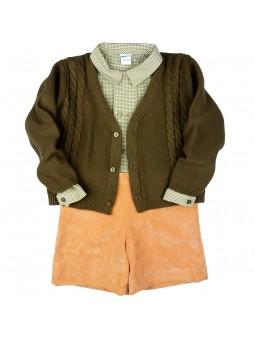 Rochy. Conjunto chaqueta, camisa y short