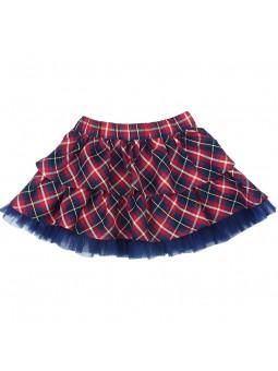 Tutto Piccolo falda de cuadros