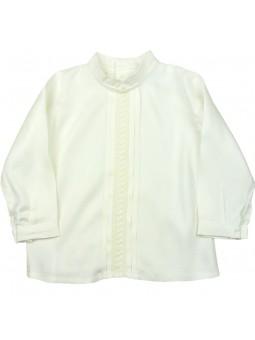 Rochy camisa niño con jaretas