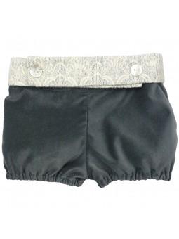 Rochy pantalón corto de terciopelo