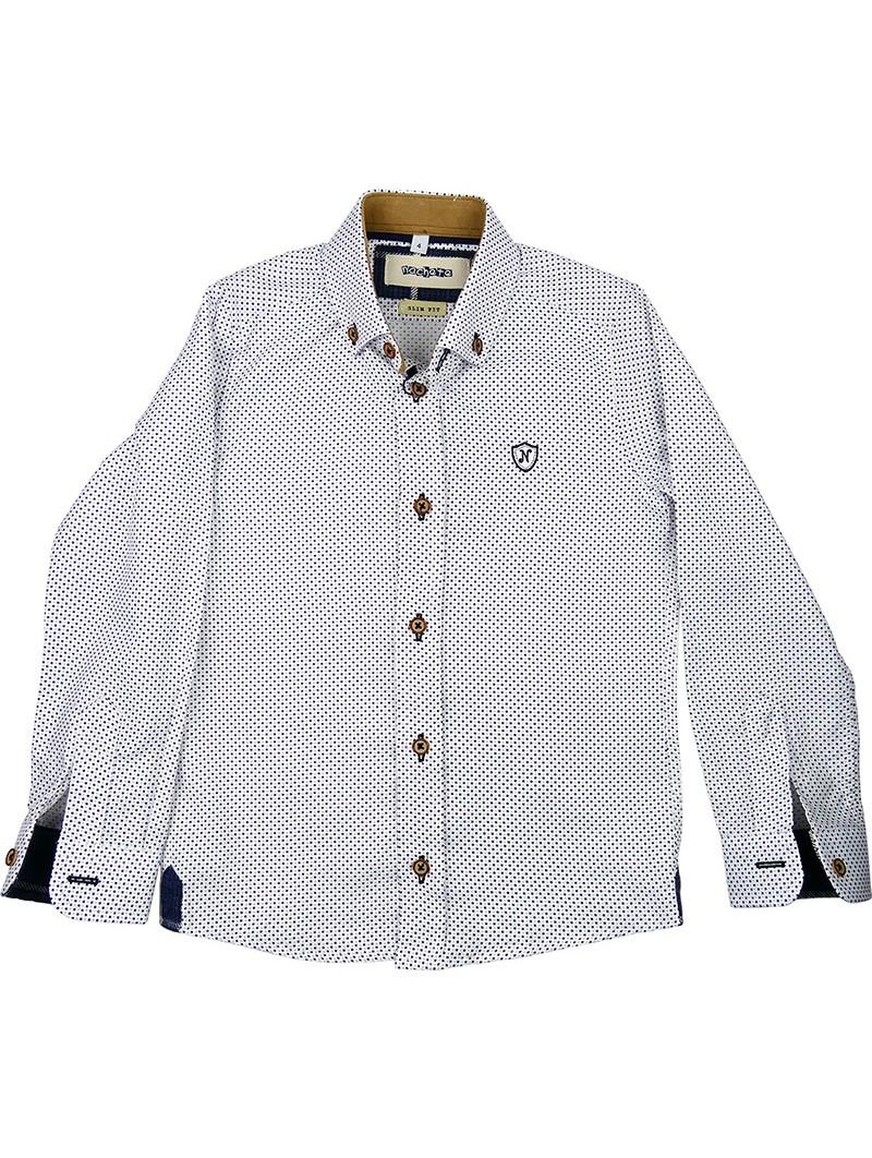 Nachete camisa de lunares