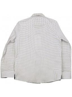 Nachete camisa de lunares vista trasera