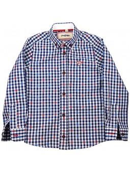 Nachete camisa de cuadros vichy