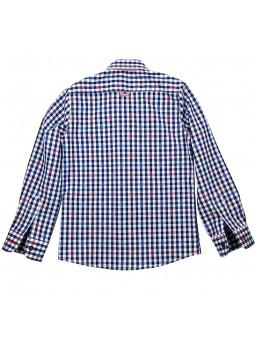 Nachete camisa de cuadros vichy vista trasera
