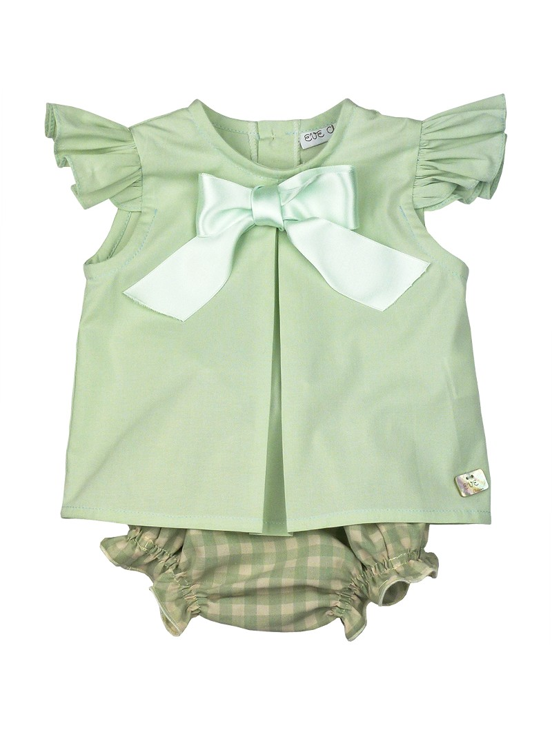 Eve Children. Conjunto verde oliva