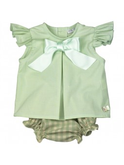Eve Children. Conjunto verde oliva
